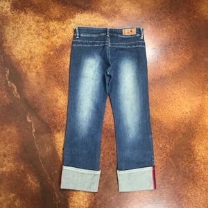lochina Jeans - Lochina 30 reviver rare denim cropped cuffed jeans